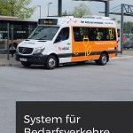 Vollflexible Bedienformen mit cover® - im Verbund mit existierendem Linienverkehr