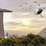Volocopter wird Flugtaxis in Singapur testen