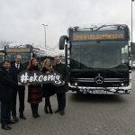 ÜSTRA nimmt die ersten neuen Elektrobusse in Empfang
