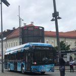 Solaris-Wasserstoffbus im Testbetrieb