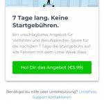 Lime startet LimePass Abo-Modell in Deutschland