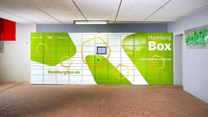 Pilotprojekt für Paketstationen an Hamburgs S- und U-Bahnen
