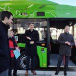 Erster Freiburger E-Bus im Linieneinsatz