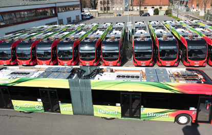Elektro-Gelnkbus