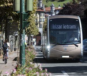 Elektrobus Irizar ie tram