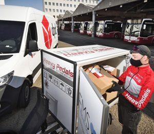 Lastenrad in Wien