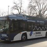 Positives Zwischenfazit zum Einsatz des Elektrobusses in Lörrach