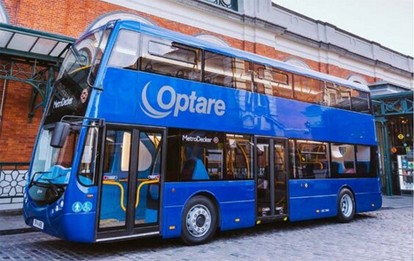 Brennstoffzellen-Doppeldeckerbus