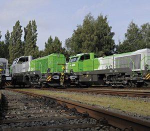 Vossloh G 6, G 12 und DE 18