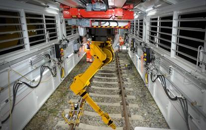 Robel-Schieneninstandhaltung