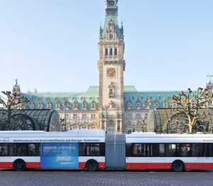 Batteriebus in Hamburg