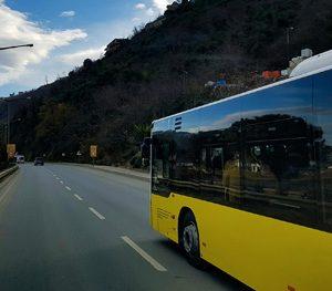 Bus unterwegs