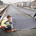 Sonnenstrom-Pilotprojekt der Wiener Linien