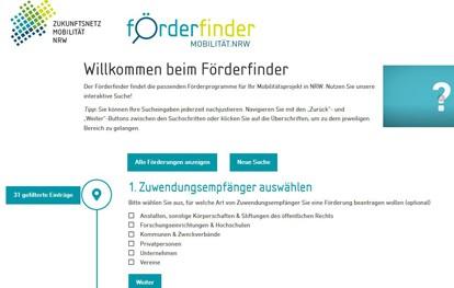 Förderung in NRW