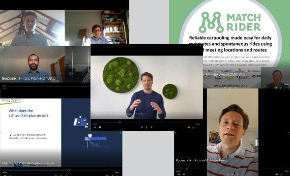 Digital start-up pitch