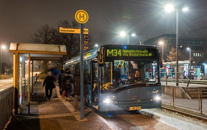 Bus in Frankfurt