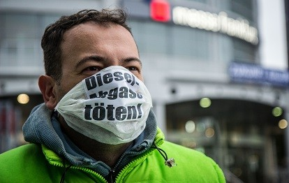 Dieselabgase töten