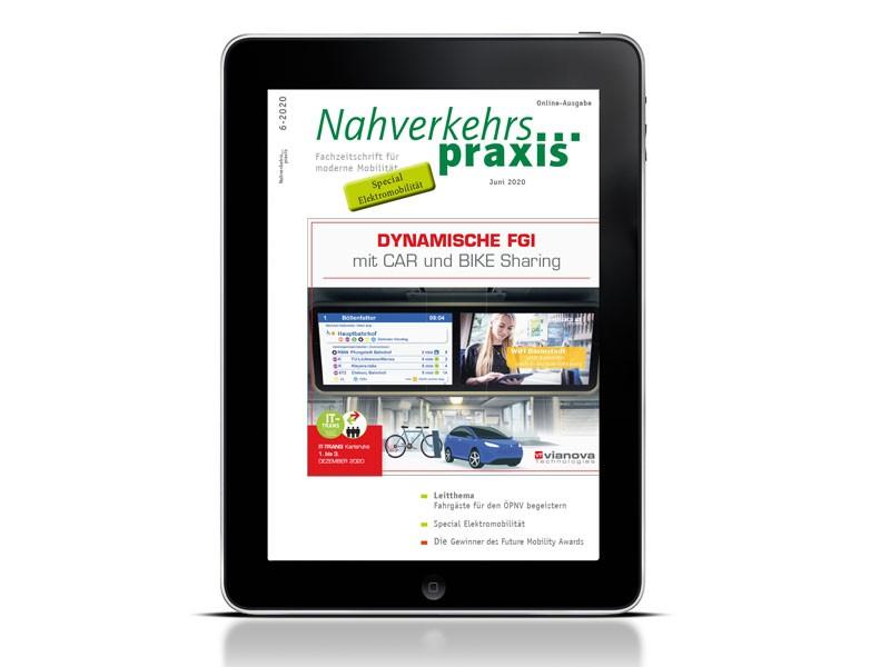 Juni-Ausgabe der Nahverkehrs-praxis