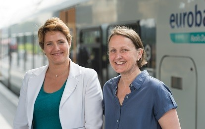 Magali Euverte und Anne Mathieu