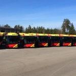 Gävle stellt 40 Solaris CNG-Busse in Dienst