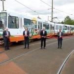 Stadtbahn als mobiles Zeichen für Klimaschutz