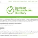 Transport Climate Action Directory des Weltverkehrsforums
