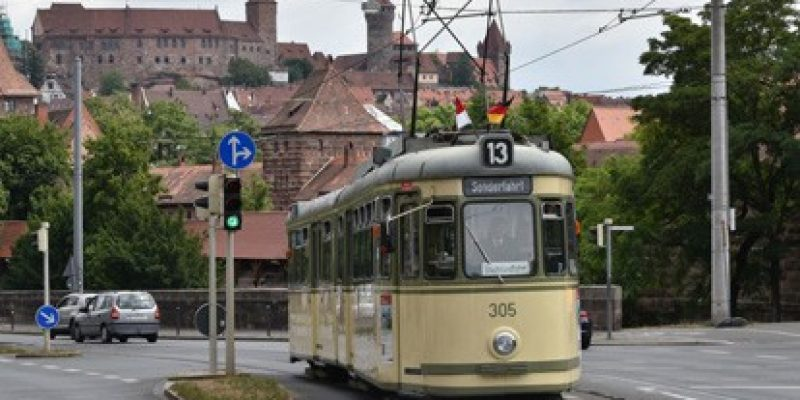 Oldtimerlinie 13 in Nürnberg