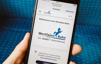 Schnelles WLAN für die WestfalenBahn