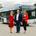ÜSTRA und regiobus testen Wasserstoffbus
