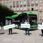 Erster E-Bus in Gelsenkirchen