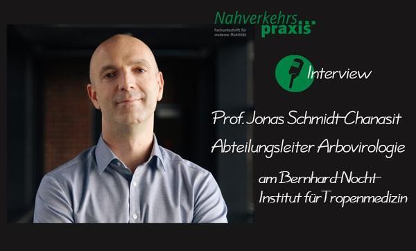 Prof. Jonas Schmidt-Chanasit, Abteilungsleiter Arbovirologie