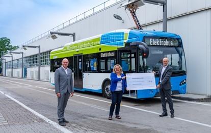Förderbescheid für Münsters E-Busse