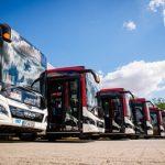 EVAG nimmt 14 neue Busse in Betrieb
