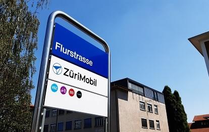 ZüriMobil Station Flurstraße