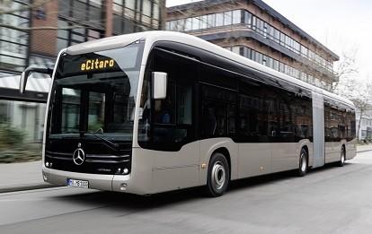 Mercedes-Benz eCitaro G mit vollelektrischem Antrieb
