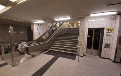 Aufzug Spichernstrape