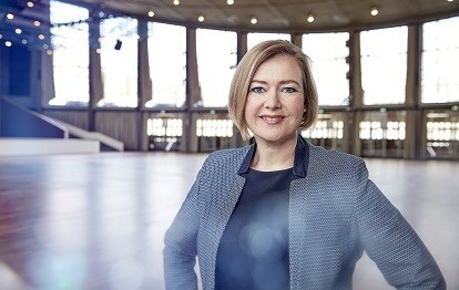 Britta Wirtz, Geschäftsführerin der Messe Karlsruhe