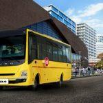 FUSO-Komplettbusse für Exportmärkte