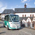 Autonome Fahrzeuge am Kloster Eberbach