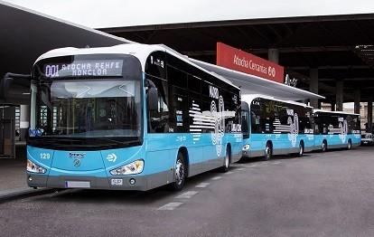 Irizar Elektrobusse für Madrid