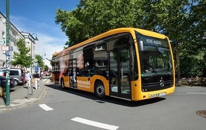 24 neue Elektrobusse vom Typ eCitaro sorgen in Darmstadt und im Landkreis zukünftig für besseres Klima.