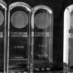 Projekte aus Osnabrück, Innsbruck, Bremen und Halle gewinnen Stadtwerke Award 2020