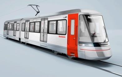 Neue Stadtbahn für die Rheinbahn
