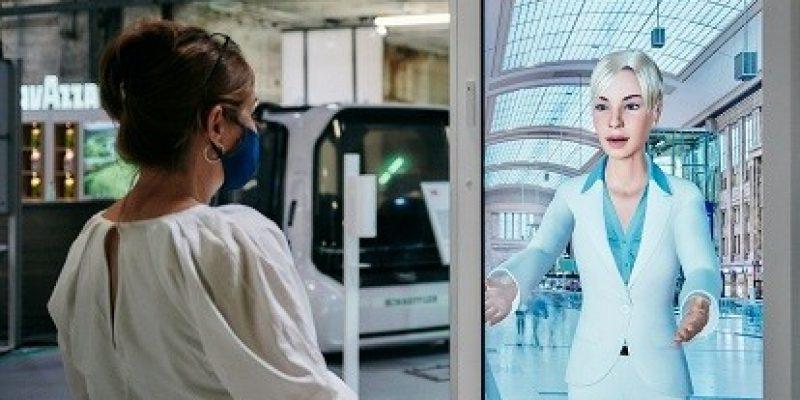 Der digitale Avatar SEMMI wurde von der IT-Tochter der Deutschen Bahn, DB Systel, entwickelt.