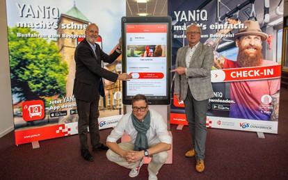 Am 26. Oktober 2020 haben die Stadtwerke Osnabrück ihr digitales Busbestpreissystem gestartet.