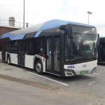 Erprobung eines Solaris-Wasserstoffbusses in Paris