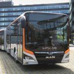 Die neuen Linzer Hybridelektrobusse