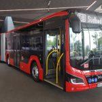 Neue Hybridgelenkbusse für Südbadenbus
