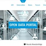 Open-Data-Portal auf der VRN-Homepage