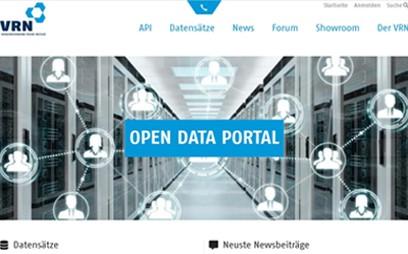 Das Open-Data-Portal des VRN bietet IT-Entwicklern, versierten Kunden bzw. den registrierten Benutzern Zugang zum Open-Data Forum, für die Möglichkeit des inhaltlichen Austausches und der Vernetzung sowie ein Austausch sämtlicher ÖPNV-Daten etwa zu Haltestellen, Fahrplänen oder Echtzeitinformationen im VRN-Gebiet.